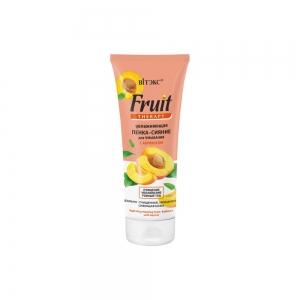 Увлажняющая Пенка-сияние для умывания FRUIT Therapy с абрикосом, 200мл