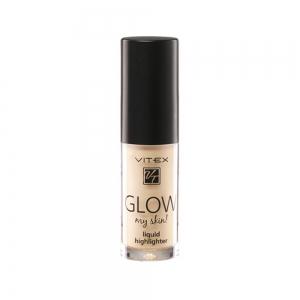 Жидкий хайлайтер для лица Vitex Glow My Skin тон 11 Pearl, 4,9г