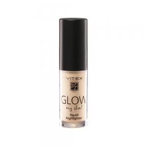 Жидкий хайлайтер для лица Vitex Glow My Skin тон 13 Gold, 4,9г