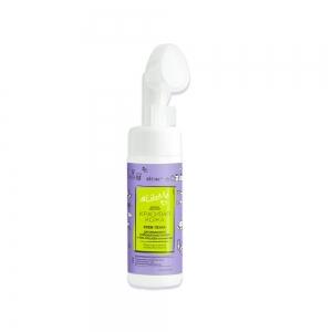 Крем-пенка для умывания LikeMe Контроль над порами, с EGG-Collagen комплексом, со щёткой, 175мл