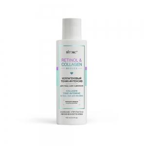 Тоник-интенсив для лица, шеи и декольте Retinol&Collagen meduza коллагеновый, 150мл