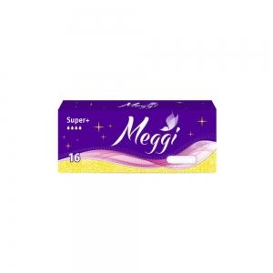 Тампоны гигиенические Meggi Super plus (16шт)
