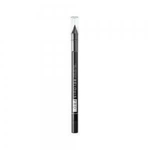 Стойкий карандаш для глаз PRO тон 01 black/черный, гелевый
