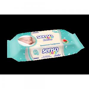 Салфетки влажные SENSO Baby Ecoline детские (60шт)