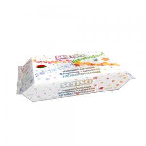 Влажные салфетки Антибактериальные, универсальные, 100 шт