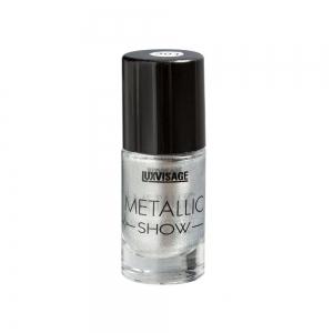 Лак для ногтей Metallic Show тон 301 серебро, 9г