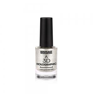 Лак для ногтей 3D Holographic тон 701 холодный бриллиант, 11г
