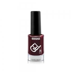 Лак для ногтей GEL finish тон 09 темно-бордовый, 9г