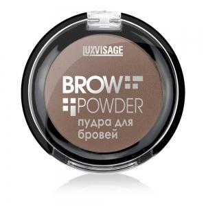 Пудра для бровей Brow powder тон 02 Soft brown, 4г