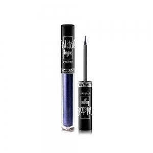 Подводка для глаз Metal hype цветная, эффект металлического сияния, тон 03 (sapphire bluer)