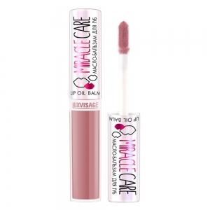 Масло-бальзам для губ Miracle Care тон 101 пудровый розовый