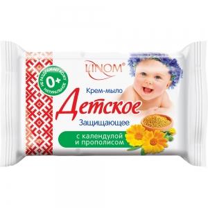 """Крем-мыло детское """"Защищающее"""", 65гр (флоу-пак)"""