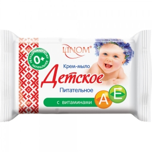 """Крем-мыло детское """"Питательное"""", 65гр (флоу-пак)"""
