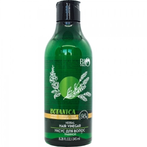 "Botanica Уход Уксус для ополаскивания волос ""Лаванда, розмарин, тимьян"", 245мл"