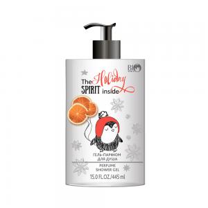 Гель-парфюм для душа Рождественский праздничный аромат, 445мл