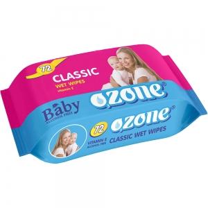 Салфетки влажные Детские 72 шт с экстракт календулы и вит.Е