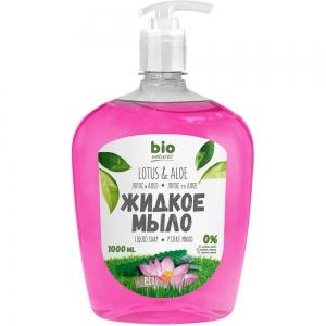 Жидкое мыло Лотос и алоэ, 1000мл