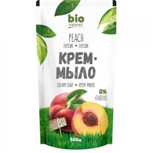 Жидкое крем-мыло Персик запасная упаковка, 500мл