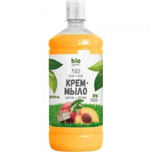 Жидкое мыло Персик мыло-крем запасная упаковка, 1000мл
