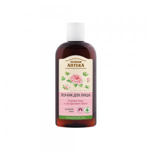 Зеленая аптека Тоник д.лица Розовая вода и миндальное масло, 200мл
