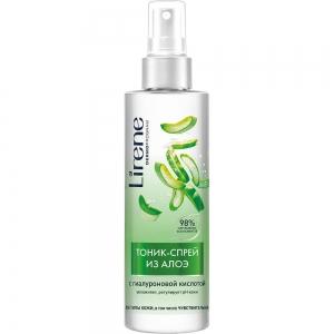 Тоник-спрей для лица из алоэ с гиалуроновой кислотой для всех типов кожи и чувствительной, 200мл