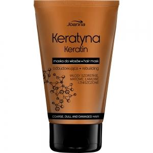 Keratin Маска для волос с кератином для поврежденных непослушных и тусклых волос, 150мл