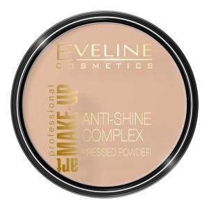 Пудра для лица Anti-Shine Coplex тон 31 прозрачный, матирующая минеральная с шелком, 14г