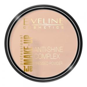 Пудра для лица Anti-Shine Coplex тон 32 натуральный, матирующая минеральная с шелком, 14г