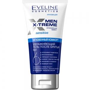 Men X-Treme Гель после бритья увлажняющий 6в1, 150мл