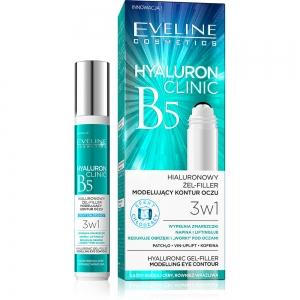 Hyaluron Clinic B5 Гель-филлер для глаз 3в1 Гиалуроновый, 15мл