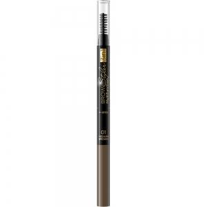 Стайлер для бровей 3в1 Brow Styler тон 01 коричневый