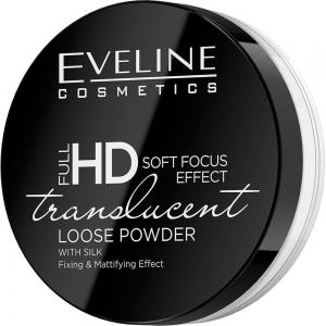 Пудра для лица Full HD Translucent тон универсальная рассыпчатая фиксирующая, 6г