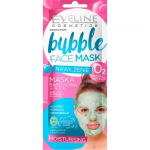 """Тканевая маска для лица """"Bubble Face Mask"""" Увлажняющая пузырьковая, корейская (1шт)"""