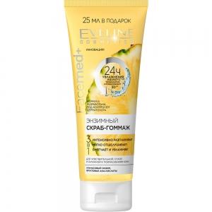 Facemed+  Скраб-гоммаж для лица Энзимный для чувствительной, сухой, склоннной к покраснению кожи, 75мл