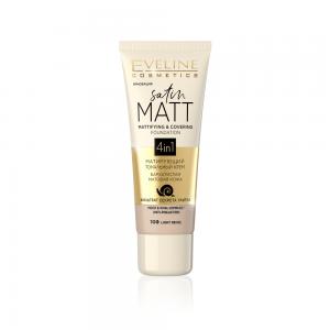 Тональный крем Satin Matt тон 100 light beige