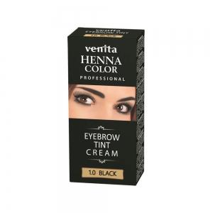 Краска для бровей VENITA HENNA COLOR PROFFESSIONAL Черная, 15мл