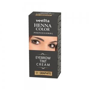 Краска для бровей VENITA HENNA COLOR PROFFESSIONAL Графитовая, 15мл