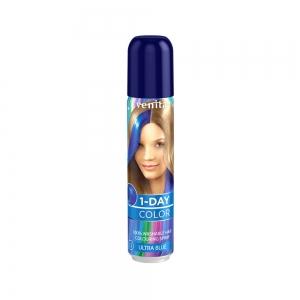 Оттеночный спрей для волос 1-DAY COLOR 12 Сапфировый синий, 50мл