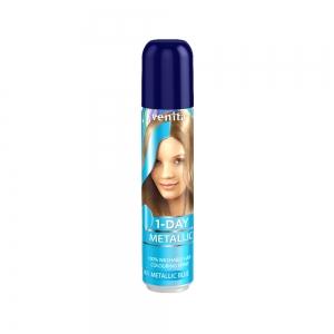 Оттеночный спрей для волос 1-DAY METALLIC М3 Blue, 50мл