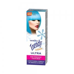 Красящий тонер-крем для волос TRENDY CREAM 35 Лазурная голубизна, 75мл+бальзам для волос 2х15мл