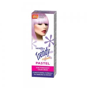 Красящий тонер-крем для волос TRENDY CREAM 42 Лавандовая мечта, 75мл+бальзам для волос 2х15мл
