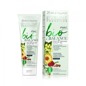 Крем-маска для лица BIO ночной bio BALANCE - Матирующе-очищающий, 75мл