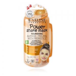 Power Shake Mask Bioмаска-пилинг д/лица Питательная с пробиотиками, 10мл