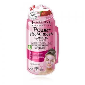 Power Shake Mask Bioмаска д/лица д/сияния кожи с пробиотиками, 10мл