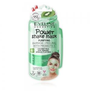 Power Shake Mask Bioмаска-пилинг д/лица Очищающая с пробиотиками, 10мл