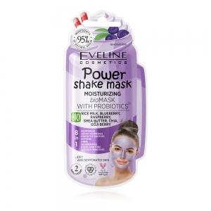 Bioмаска для лица Power Shake Mask увлажняющая с пробиотиками, 10мл