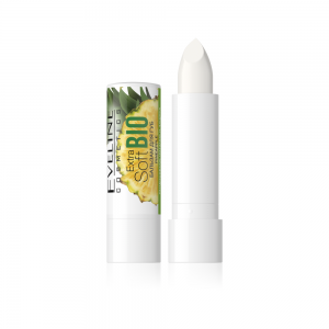 "Eveline Бальзам д/губ Extra Soft bio ""Pineapple"" интенс.питание и защита SPF20, 4,5г"