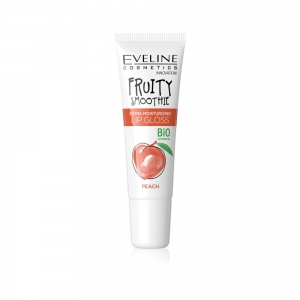 "Eveline Блеск д/губ Fruity Smoothie ""Peach"" экстраувлажняющий, 12мл"