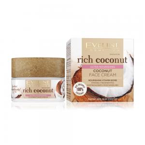 Rich Coconut Крем д/лица Интенсивно увлажняющий кокосовый д/всех тип.к.и чувст, 50мл
