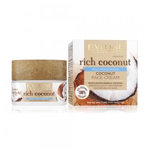 Rich Coconut Крем д/лица Мультипитательный кокосовый д/сух.и чувст,кожи, 50мл